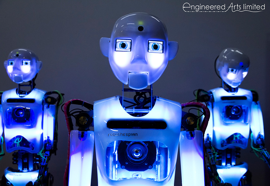 teq4 offers robothespian and interactive technologies for museums and science centres